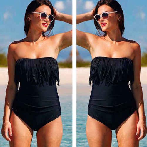 セクシーな女性のプラスサイズワンピースビキニ夏水着ビーチビキニセット Swearwear