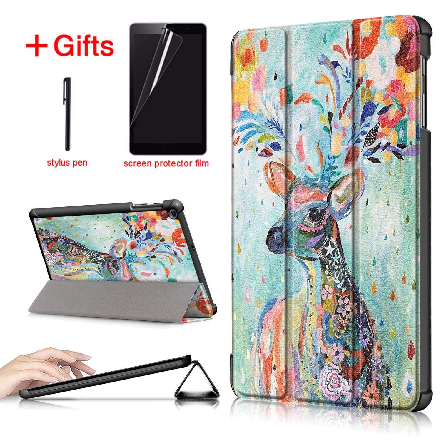 Case For Samsung Tab A 10.1 2019 2016 Tablet Cover For Samsung Galaxy Tab A 10.1 Case(China)