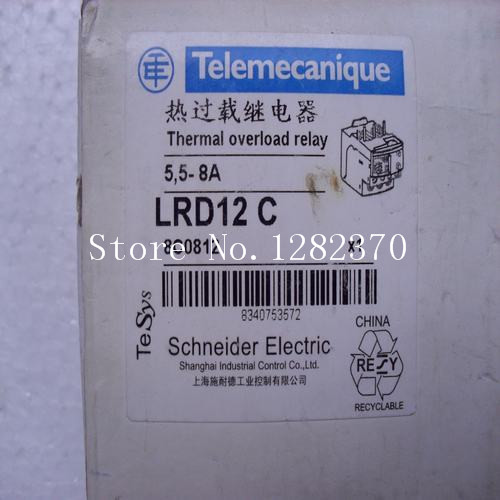 [SA] New original authentic special sales Telemecanique thermal overload relay spot LRD12C --5PCS/LOT new original telemecanique safety relay xpsaf5130 1 year warranty xpa af xpsaf5130 in box