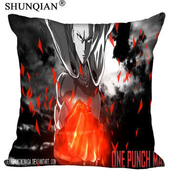 Best One Punch Man Pillowcase Wedding Decorative Pillow Cover Custom Gift For (Two Sides) Printed Pillow Cases A8.15