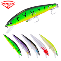 5PC Plastic Fishing Lures 5 Color Fishing Tackle 5.51 14cm/24.8g 0.87oz Bass Bait Minnow Fishing tackle
