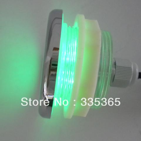 1pcs waterproof RGB LED bathtub lamp 1w / underwater chromotherapy ...