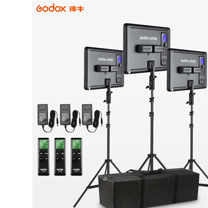 3pcs Godox LEDP260C Ultra-thin