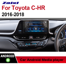 "все цены на ZaiXi 9"" Android Car Multimedia GPS Audio Radio Stereo For Toyota CHR CH-R RHD 2016~2018 Original Style Navigation NAVI BT онлайн"