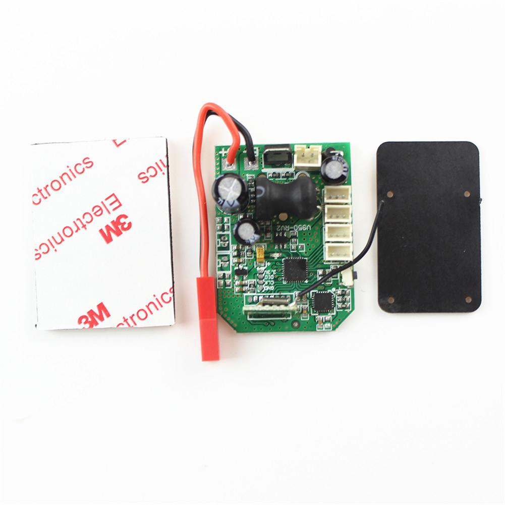 RCtown V950 <font><b>Receiver</b></font> V950-020 Main <font><b>Board</b></font> PCB for WLtoys V950 6CH <font><b>RC</b></font> Helicopter Spare Parts image