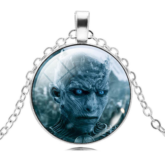 2017 hot sale white walkers necklaces pendants game of thrones 2017 hot sale white walkers necklaces pendants game of thrones jewelry vintage silver color statement mozeypictures Gallery