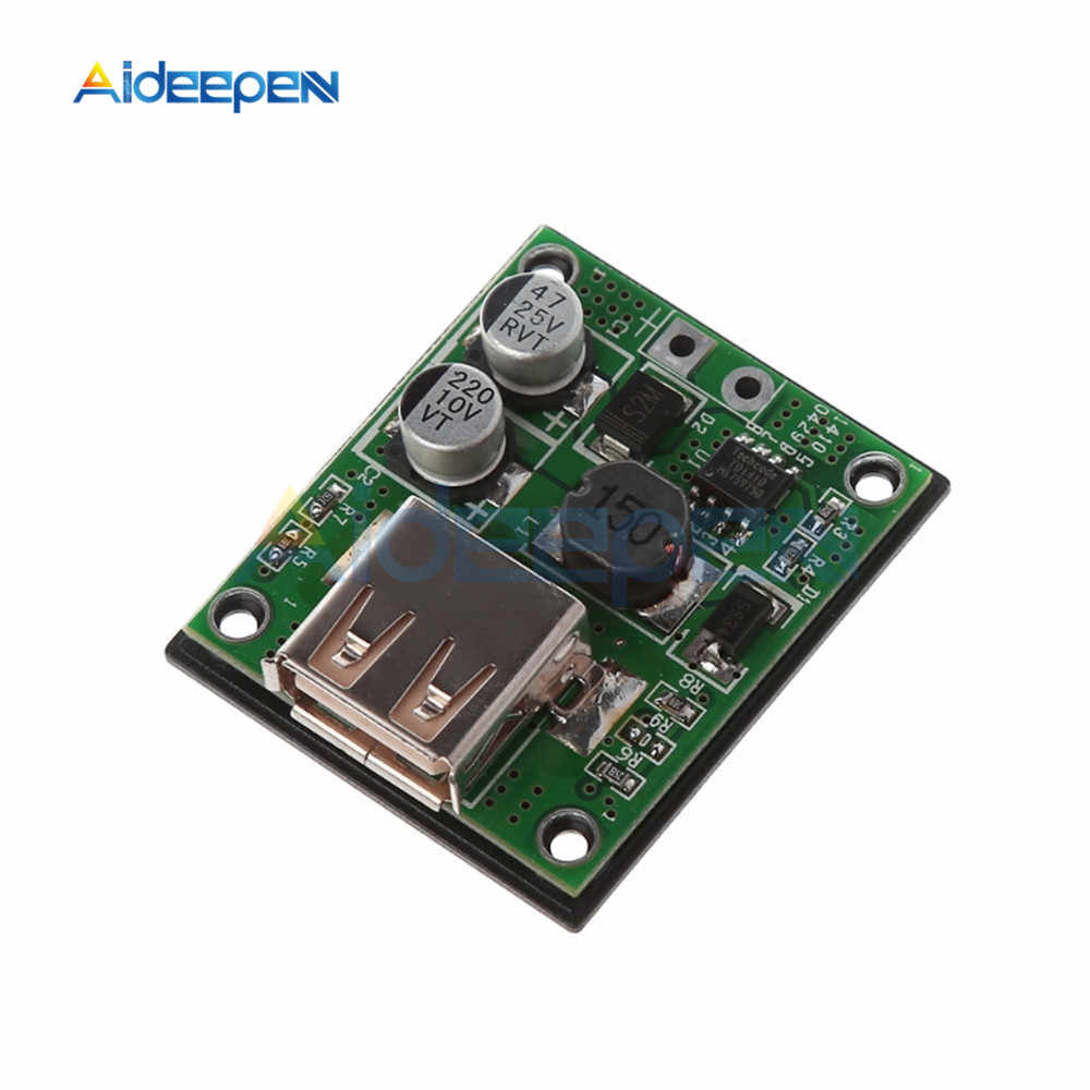 5V 2A Usb 電源銀行ソーラーパネルモジュール電圧レギュレータ · コントローラ DIY ソーラー DC 充電 5 V-20 12V 入力 5V DC 出力 USB ボックス