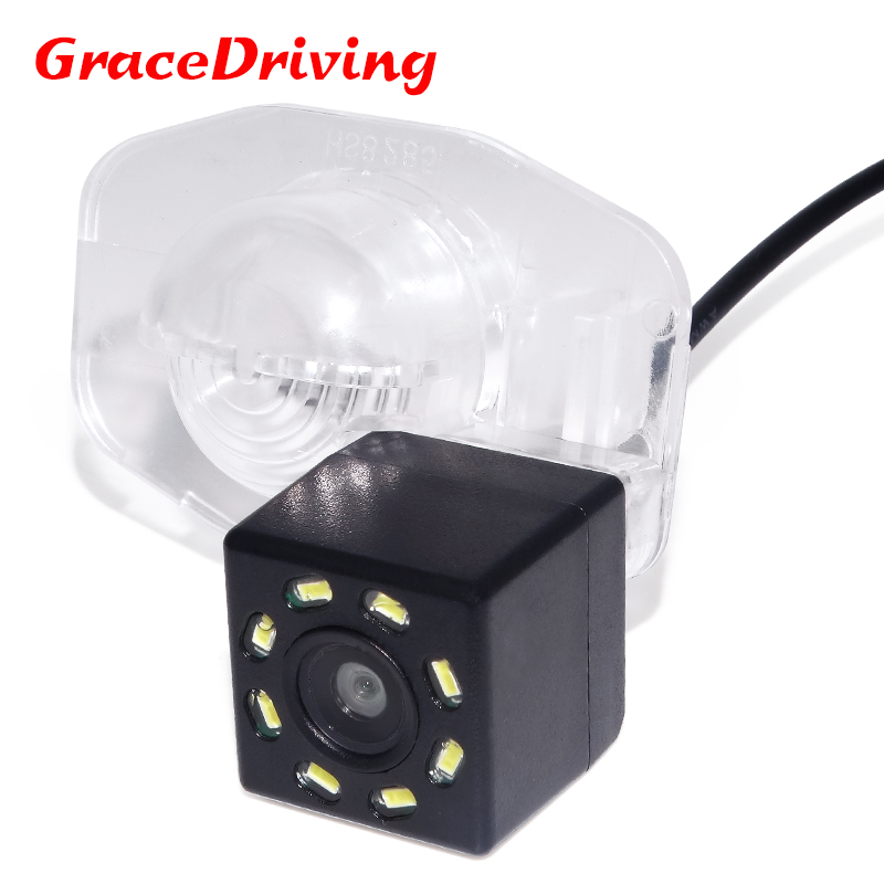 Promotion Car CCD 8LED Night Vision Reverse Parking Waterproof Rear View Camera For TOYOTA Corolla 2007 - 2013 Free Shipping