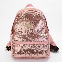 2017 Fashion Cute Girls Sequins Women Backpacks Paillette Leisure School Bags Backpacks For Teenage Girls Top Quality