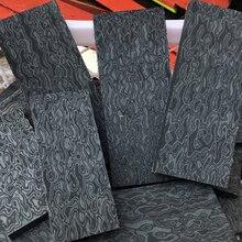 2 pcs DIY Knife handle Imported Micarta shank Patch Space board linen Mikata Dam