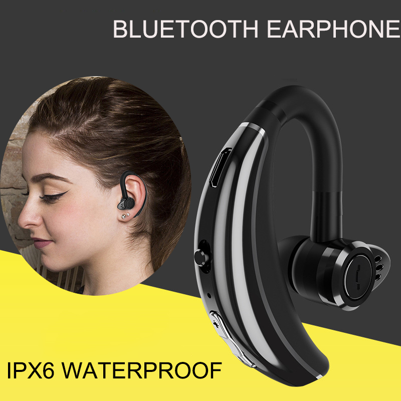 Bluetooth Headphone Sport Wireless Earphone In Ear Business Mini Headset Noise Cancelling with Microphone for Iphone for Xiaomi wireless bluetooth headset mini business headphones noise cancelling earphone hands free with microphone for iphone 7 6s samsung