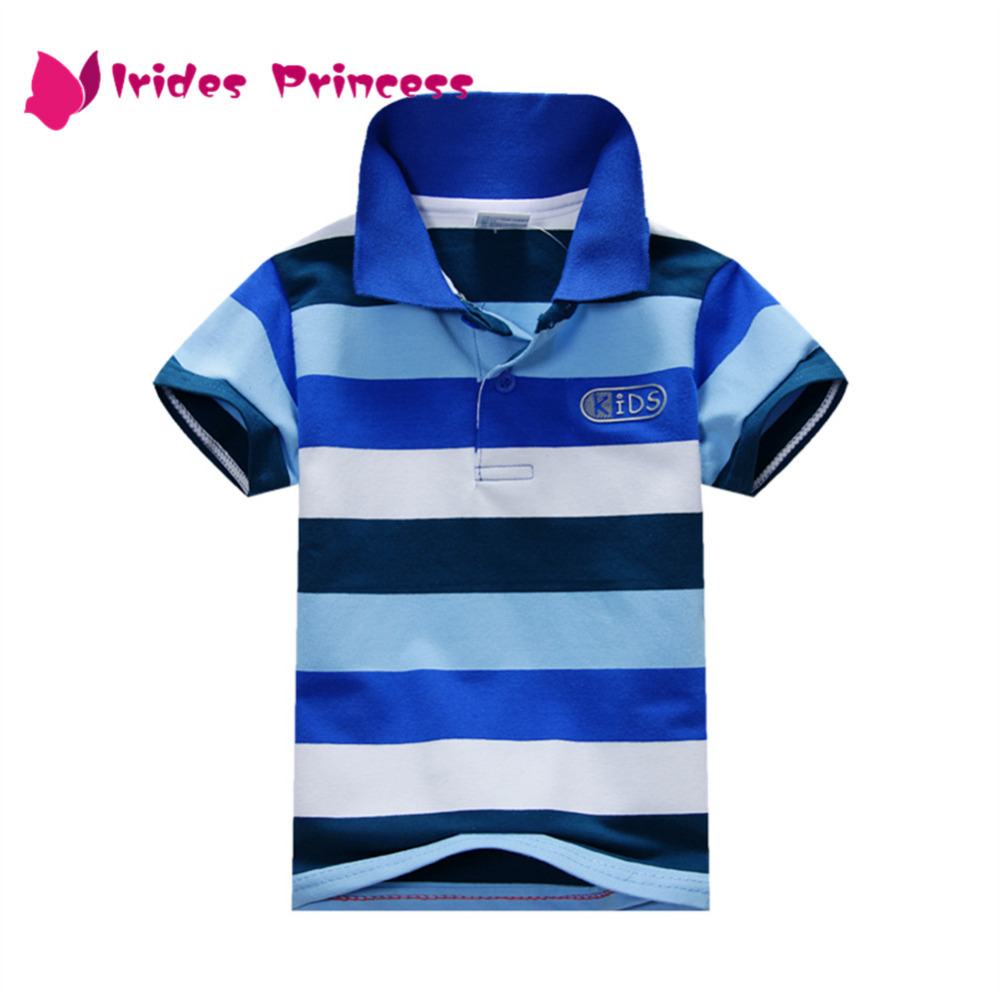 T-Shirt Kids Tops Short-Sleeve Baby-Boys Striped Summer Lovely Fashion
