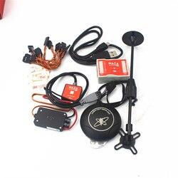 DJI Naza M Lite мультифлаер версия управления полетом Лер w/PMU силовой модуль и светодиодный и кабели и M8N gps и подставка держатель