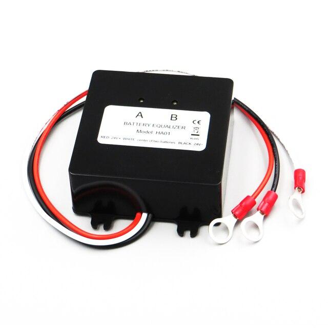 12/24 12v 鉛蓄電池充電レギュレータ HA01 バッテリー電圧イコライザーバランサ接続シリーズソーラーパネルセル 5 10 個