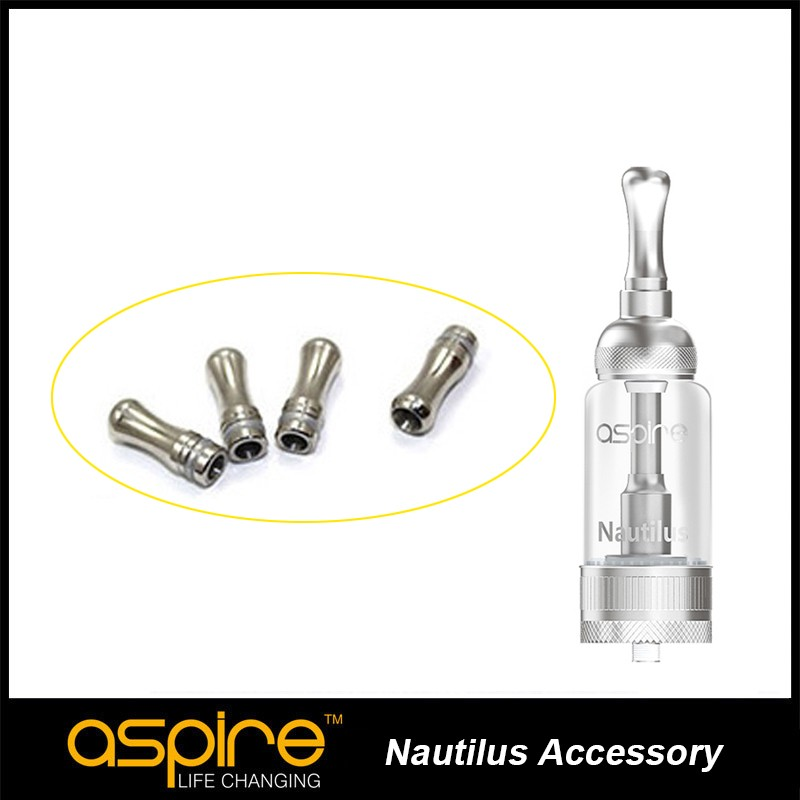4 pcs/lot e cigarette accessory Aspire Nautilus Drip Tip Compatible With Aspire Nautilus&Nautilus Mini Atomizer 2