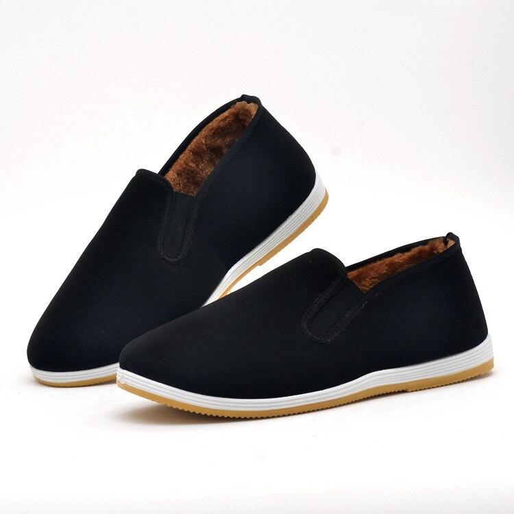 Walking shoes winter new men s canshoes middle aged non slip wear walking shoes GUM1 GUM13