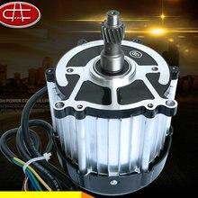 DC48V/60 V 3200 об/мин 750 Вт Малый DC магнитный бесщеточный двигатель/двигатель с дифференциальным смешанным возбуждением/электрический самокат мотора