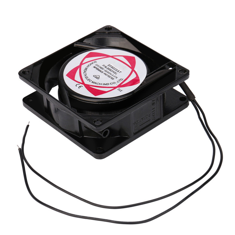 20V 240V 8cm 80mm x 80mm x 25mm AC Metal Brushless Cooling Industrial Fan drop shipping 0714 cpu cooling conductonaut 1g second liquid metal grease gpu coling reduce the temperature by 20 degrees centigrade
