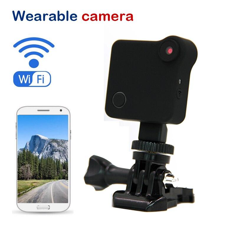 2017 New HD 720P Wearable Sport Wireless Mini ip camera Micro Camera Motion Sensor Bike Body Camera With Magnetic Clip Mini DV камень для грызунов vitakraft mineral 170 г