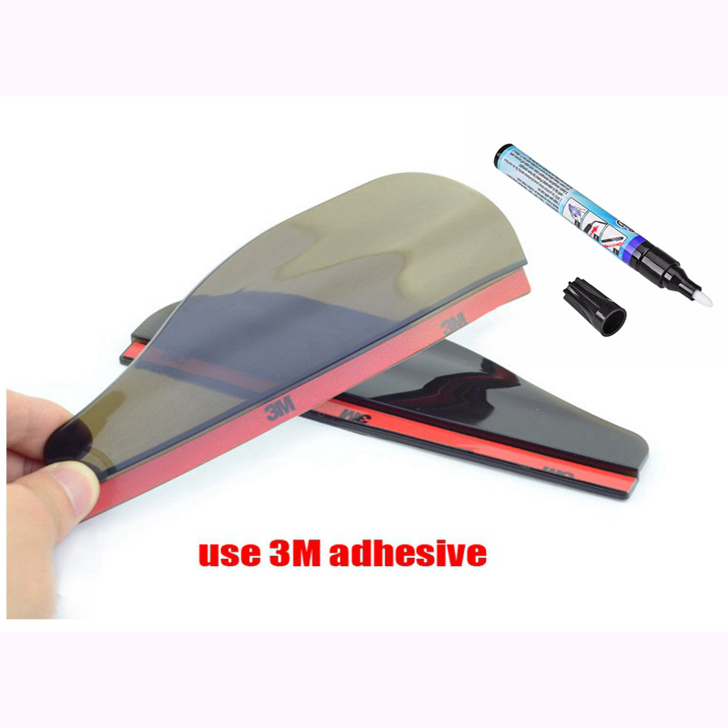 2x Car Scratch Repair Pen 2 Set Rear View Side Mirror Rain