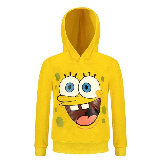 Cartoon Long Sleeve digital printing children spring models hoodies boy and girl sweatshirt coat