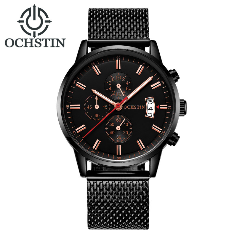 OCHSTIN Fashion Sport Style Date Quartz Watch Men Top Brand Luxury Famous Male Clock Wrist Watches for Men Relogio Masculino fashion male watches men top famous brand gold wrist watch leather band quartz casual big dial clock relogio masculino hodinky36