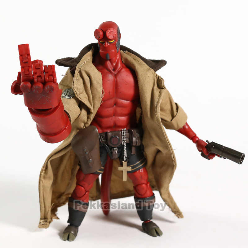 New 1000 Toys Hellboy Free shipping Anung Figure Movie Un Rama 1//12 Scale PVC