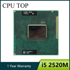 Intel Core i5 2520M 2.5GHz SR048 Socket G2/rPGA988B Processor cpu