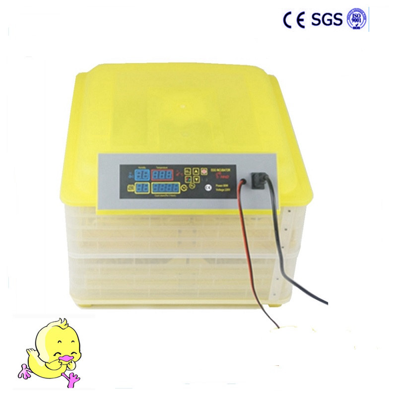 Automatic Temperature Controller  220V 96 Eggs Incubator Mini Full Digital Incubator Machine for hatching eggs  temperature controller digital temperature controller for incubator 48 48 70mm spg 6000