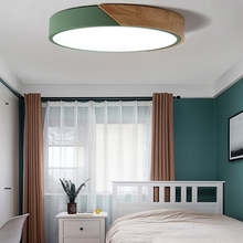Round Multicolor  LED Ceiling Light Modern Lamp Living Room Lighting Fixture Bedroom Kitchen Surface Mount Flush Panel lamp