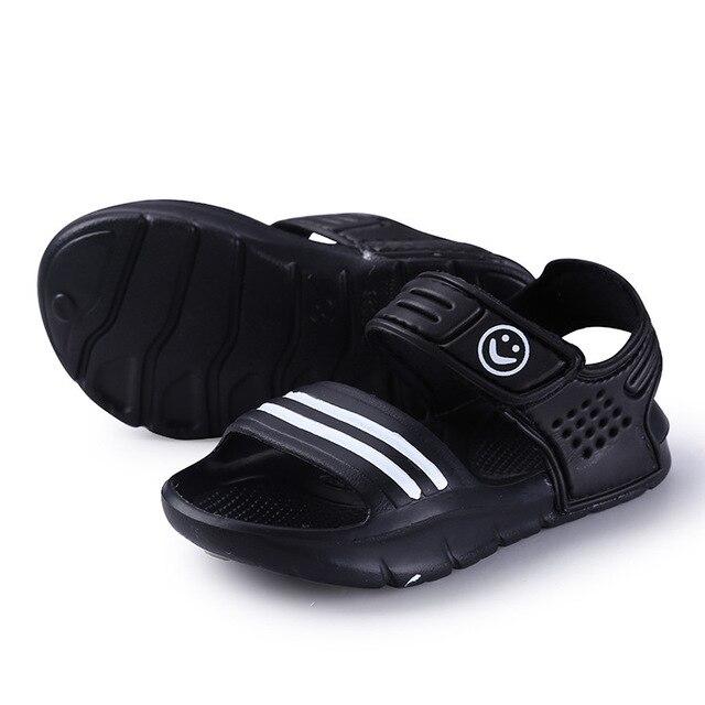 Pudcoco בני בנות ילדים ילדי סנדלי ילד קיץ חוף מזדמן הליכה קיץ מגניב סנדלי נעליים