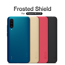 xiaomi CC9 Case CC9e Cover Nillkin Frosted Shield Back For Xiaomi mi with gift phone holder