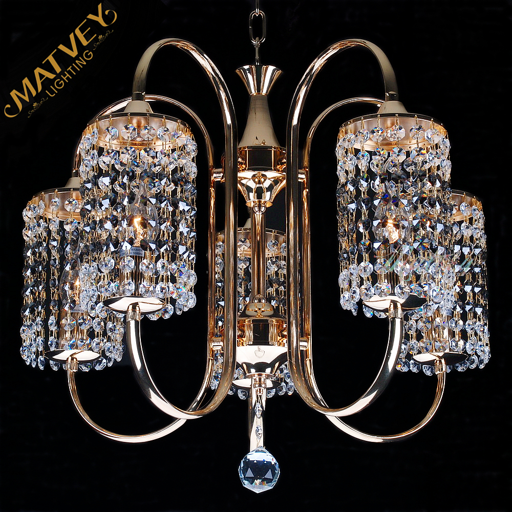French gold modern crystal chandelier for roompendant chandelier french gold modern crystal chandelier for roompendant chandelier in stock quick delivery in chandeliers from lights lighting on aliexpress arubaitofo Gallery