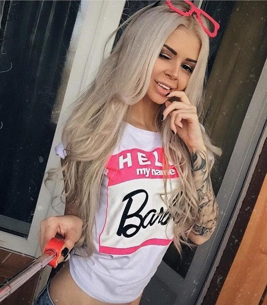 2017 Brand New Summer Fashion clothes for women Barbie Letter Print Harajuku kawaii t shirt women's T-Shirts camisetas