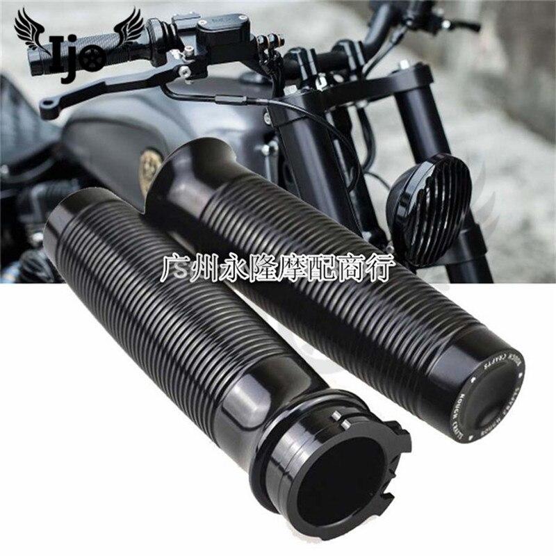 top quality gold silver black moto handle bar CNC motorbike grip for harley XL883 1200 Dana X48 handlebar motorcycle accessories
