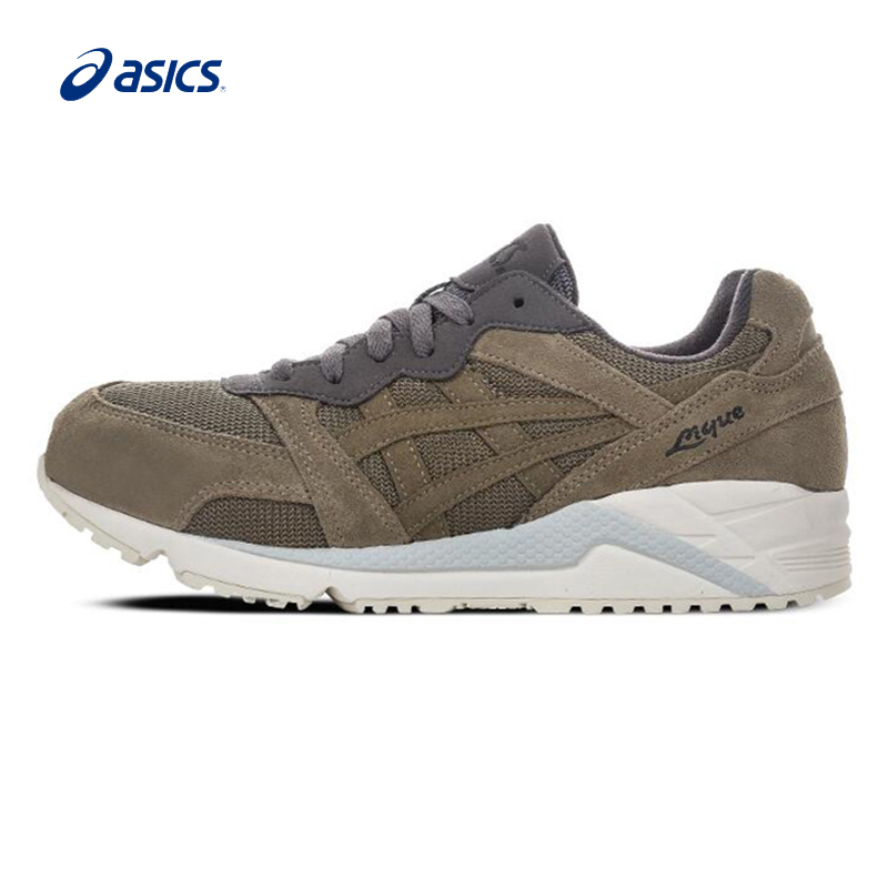 Original ASICS Men Shoes Encapsulated Cushioning Breathable Running Shoes Active Retro Sports Shoes Sneakers Outdoor Walking original asics gel lyte v gl5 women shoes cushioning anti slippery running shoe active retro sports shoes sneakers