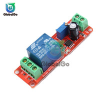 DC 5V NE555 Delay Relay Timer Switch Module Timing Time Relay Trigger Cycle Timer Delay Switch Controller 6 30v relay module switch trigger time delay circuit timer cycle adjustable