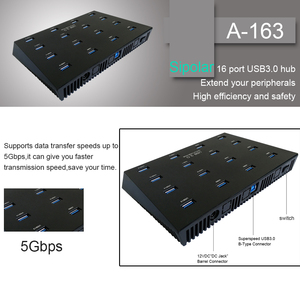 Image 4 - Sipolar סופר מהירות 16 יציאות מרובה USB 3.0 מעתק רכזות עבור HW 3G מודמים SD tf כרטיס U פלאש דיסק עותק עם תוכנה חופשית