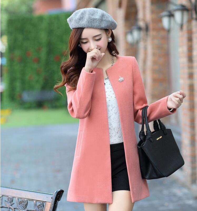Online Get Cheap Woolen Coats Ladies -Aliexpress.com | Alibaba Group