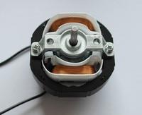 1pc YJ58 CW Clockwise 2 Poles 4mm Shaft Dia 2600RPM Shaded Pole Motor AC220V 12 14W