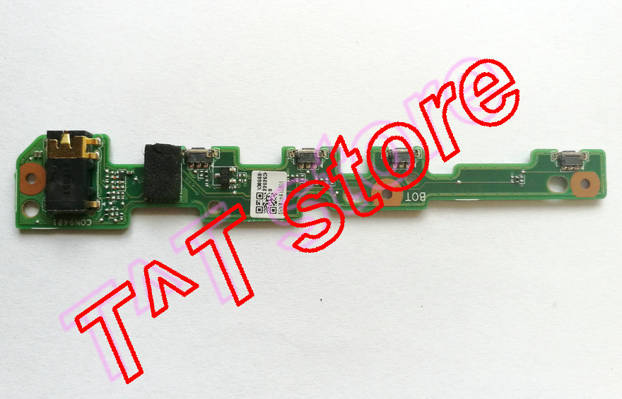 original for Acer Aspire Switch 10 SW5-012 Power Switch Volume Buttons Board P0JAC2 AUDIO DB test good free shipping for new lcd display touch screen assembly replacement acer aspire switch 11 sw5 171 sw5 171p 1366x768 11 6 inch free shipping