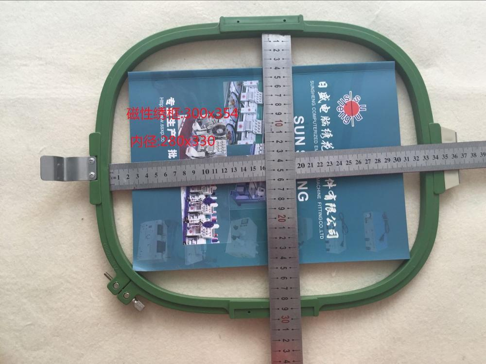 Computer embroidery machine embroidery flower 300*254 magnetic magnetic tenter frame; 300*354