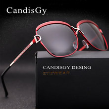 Женские брендовые дизайнерские Роскошные итальянские солнцезащитные очки с металлическим каркасом для вождения автомобиля, Модные поляризованные солнцезащитные очки UV400
