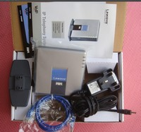 Orignal Brand New Unlocked LINKSYS SPA3102 VOIP GATE WAY ROUTER Adapter Charger 1FXO 1 FXS Free