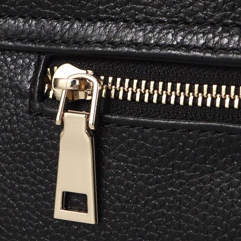 スモールクロスボディバッグ女性の本黒革のショルダーバッグデザイナーハンドバッグファッション女性牛革女性の手のショルダーバッグ  グループ上の スーツケース & バッグ からの ショッピングバッグ の中 2