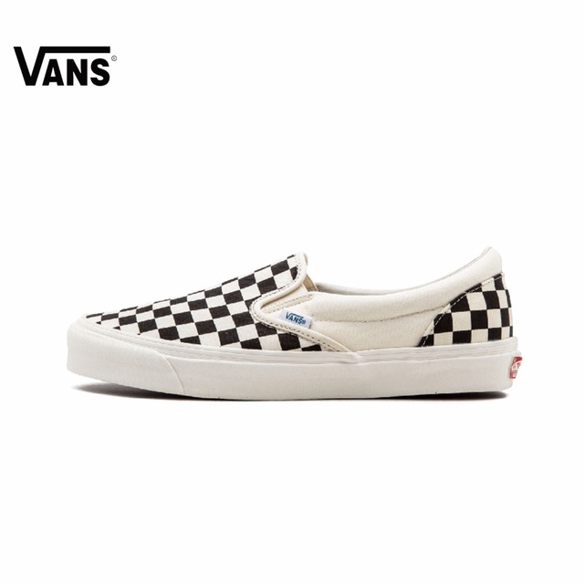8c76eb37019195 Original Vans OG Classic Slip on Unisex Skateboarding Shoes Sports Shoes  Canvas Shoes Sneakers Outdoor Non slip -in Skateboarding from Sports   ...