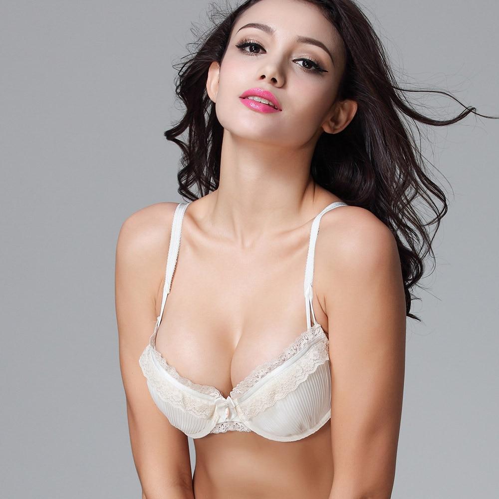 Online Shop Women's Sexy Large Size Bra Full Size Underwire Bras ...