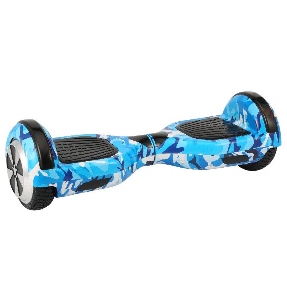 Hoverboard électrique de scooter d'iscooter 6.5 pouces 2 roues avec le scooter d'équilibre d'individu de sac de transport de Bluetooth - 6