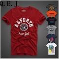 T-shirt dos homens Da Moda 2016 homens Hollistic manga curta Grupo AF Mike TopsCamisetas casual100 % CottonT-Camisas dos homens Hombre Camisa