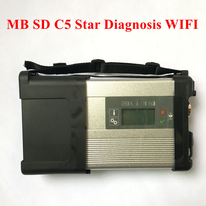 Diagnosis WIFI 5-Star Software Hdd Compact Sd Connect MB Best-Quality C5 with for Cars-And-Trucks